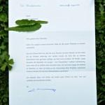Der Brief des Bundespräsidenten