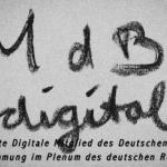 Bundestagswahl 2013 - das erste Digitale Mitglied im deutschen  Bundestag