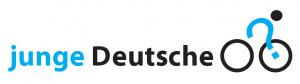 Tourlogo - das radfahrende Fragezeichen #jd2012 (www.jungedeutsche.de)