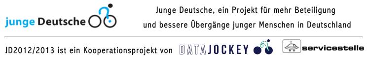 Junge Deutsche 2012/2013 - ein Kooperationsprojekt von DATAJOCKEY und Servicestelle Jugendbeteiligung