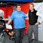 Simon mit Julian von JUST in your Town in Weiterstadt