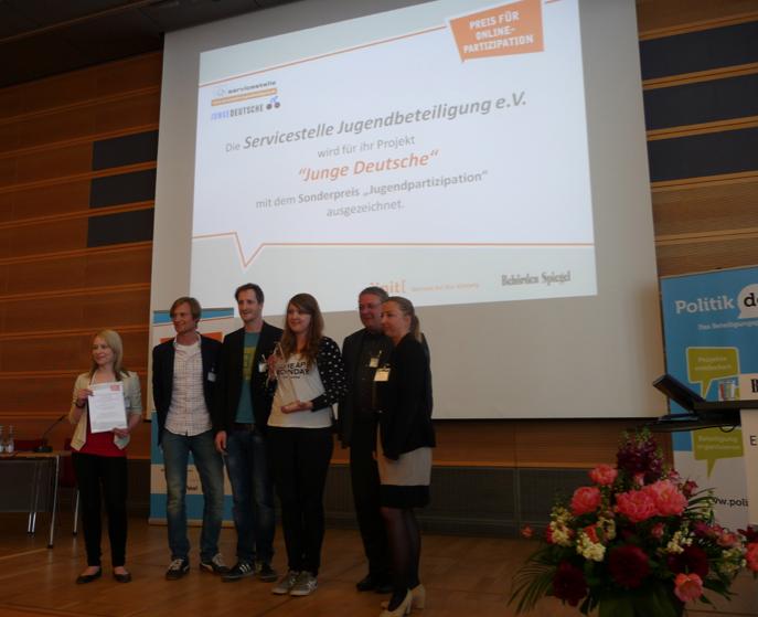 Schnetzer Preisverleihung Jugendbeteiligung