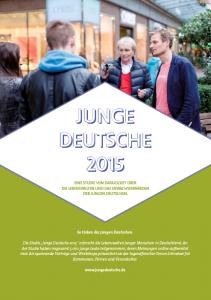 Junge Deutsche 2015 - Cover (www.datajockey.eu : www.whiteandfriends.com)