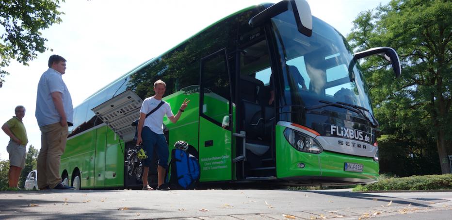 Interviews über Mobilität in Flixbus Bahn & Co
