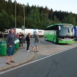 Junge Deutsche_Mobilität-Flixbus Raststätte