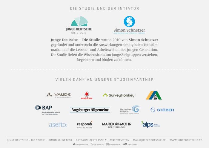 Junge Deutsche - Studienpartner 2017