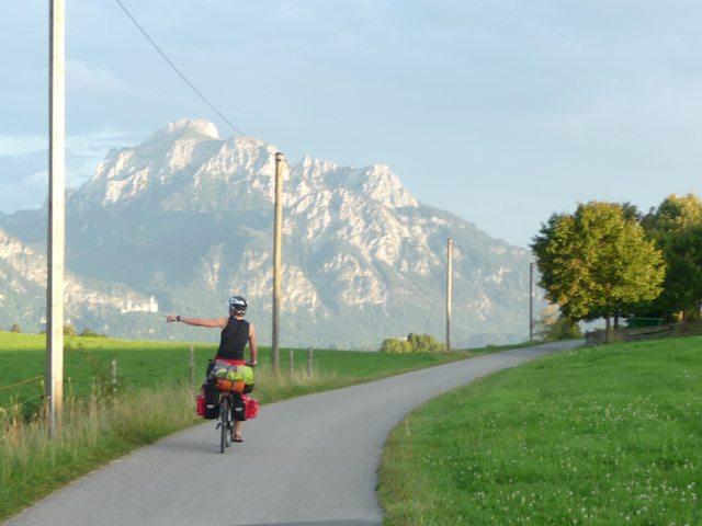 JD2012: Tourvorbereitung mit Blick auf Neuschwanstein