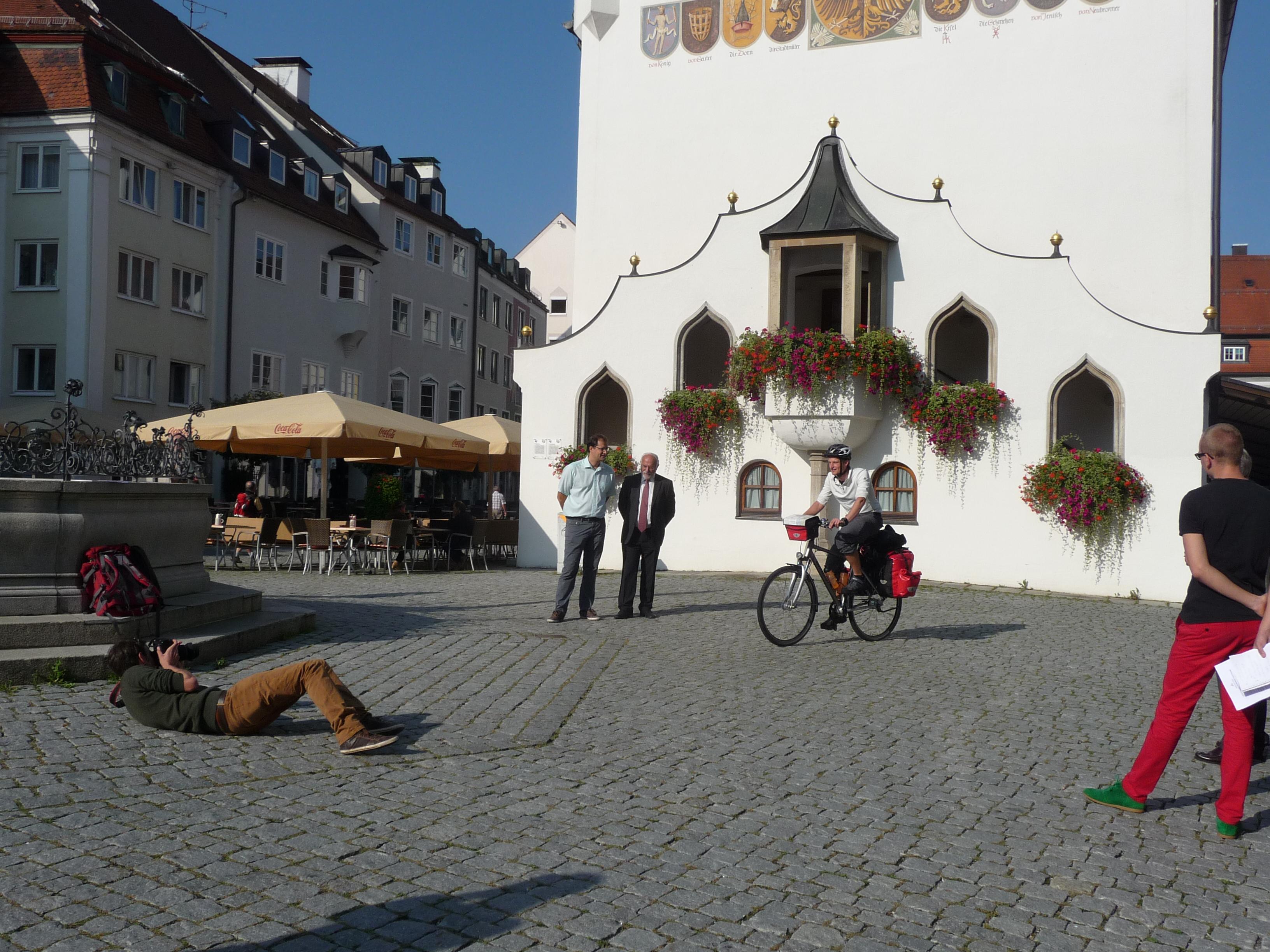 Projektstart, Tourauftakt & Pressetermin in Kempten