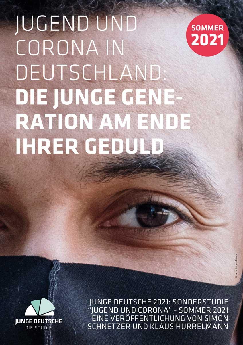 Cover Studie Jugend und Corona in Deutschland - Sommer 2021